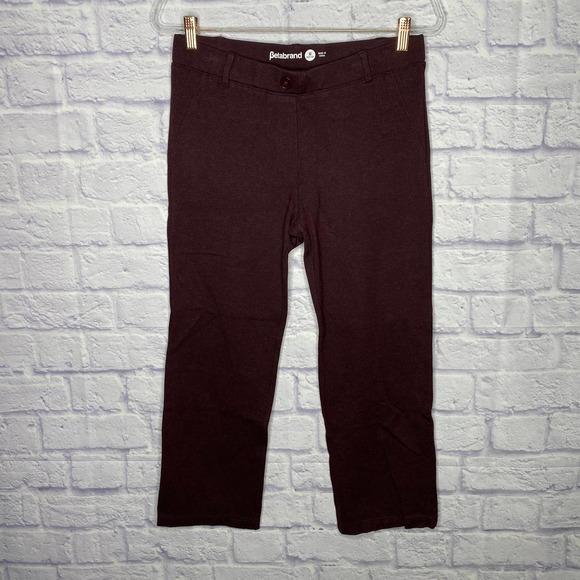 Betabrand straight leg classic pants